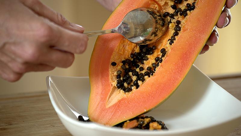 caricol for your daily smile sind papaya kerne giftig. Black Bedroom Furniture Sets. Home Design Ideas